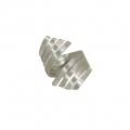 Wrap silver ring