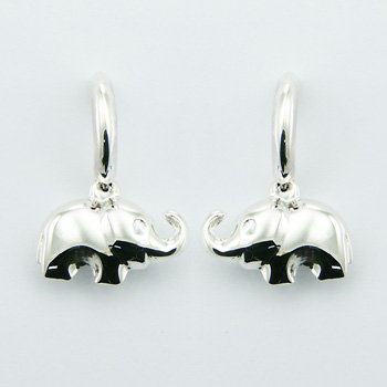 Sterling-Silver-Elephant-Stud